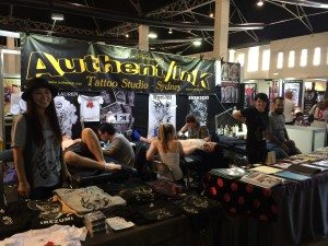 Authentink Booth