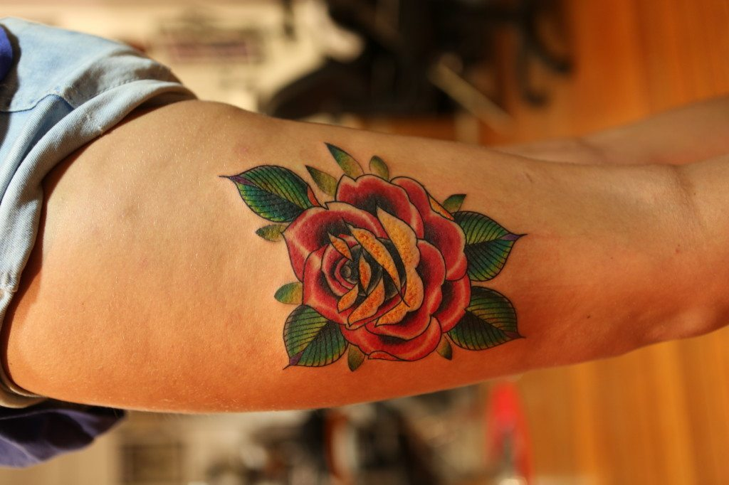 Authentink Rose tattoo