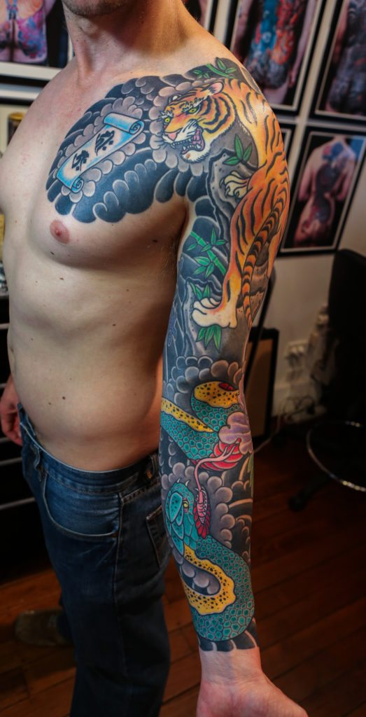 Chest To 1 4 Sleeve Koi Fish And Lotus Tattoo: Show Us Your Sleeves!