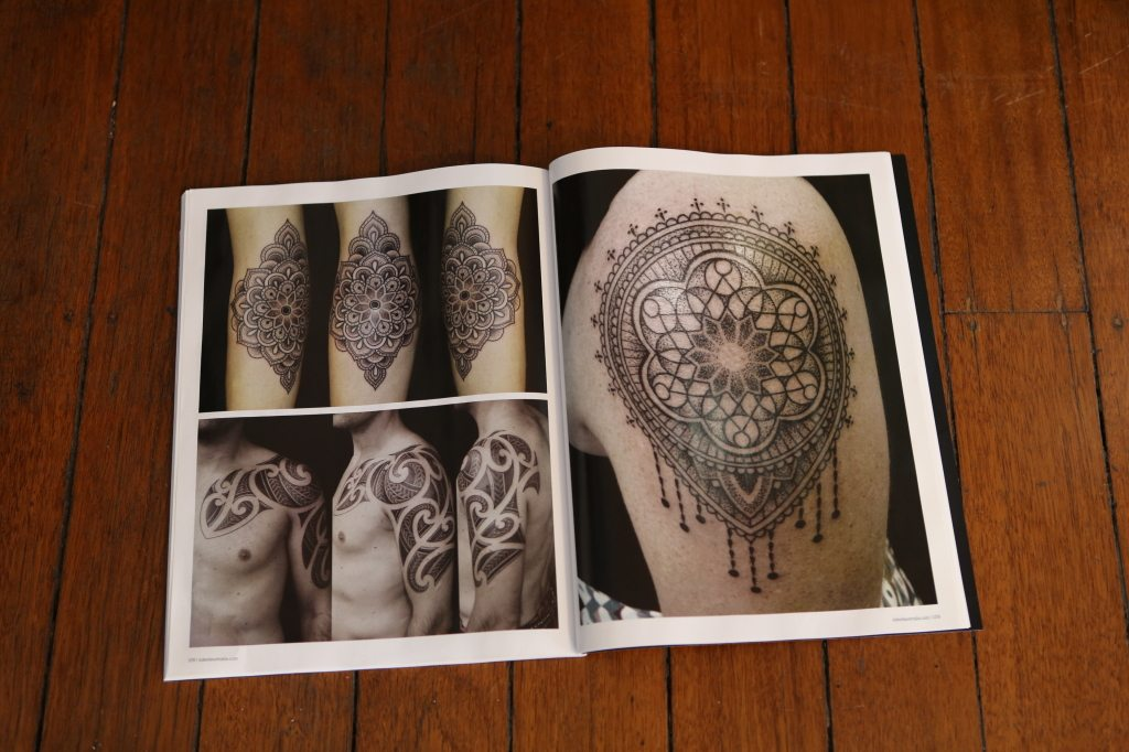 Sydney tattoo shop mandala