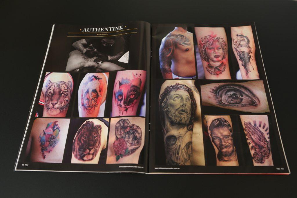 Authentink Tattoos Down Under