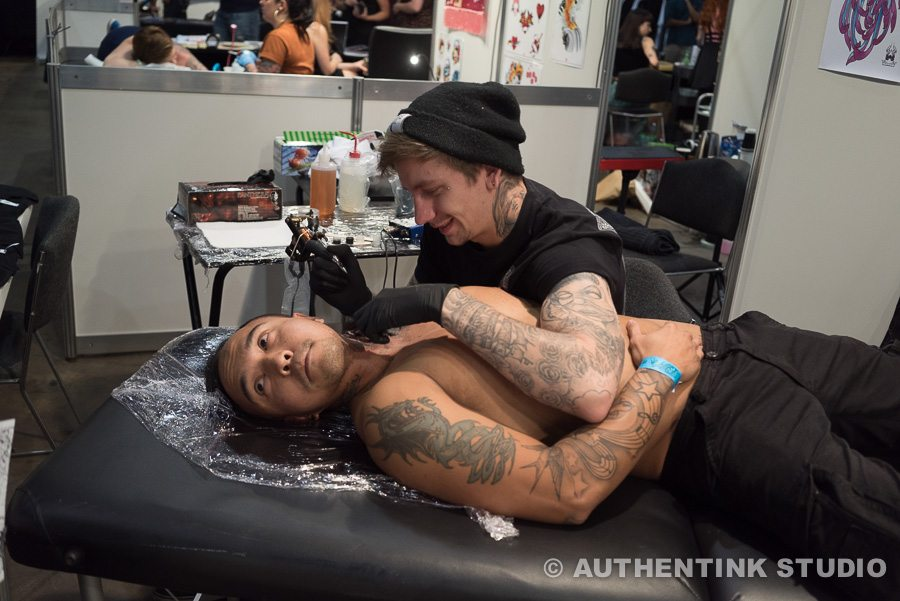 Authentink Tattoo Studio Sydney Expo