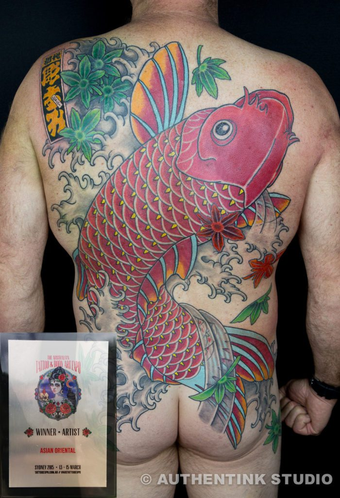 koi winner backpiece sydney 2015