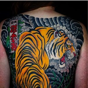 1bdae4d60a776 See below some of the amazing tiger tattoos done by our artists here at  Authentink Studio!