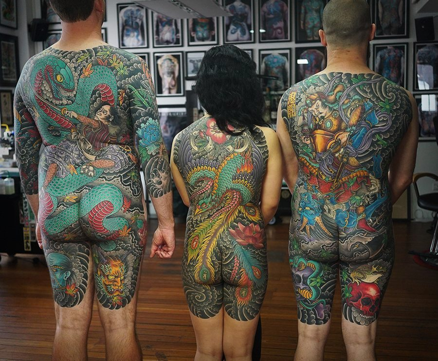 7a428f588 Irezumi Tattoos Sydney - Japanese Irezumi Sleeve Tattoos | Authentink