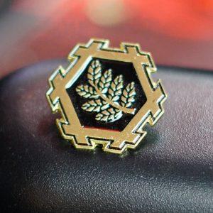 Horisumi Family Crest Pin