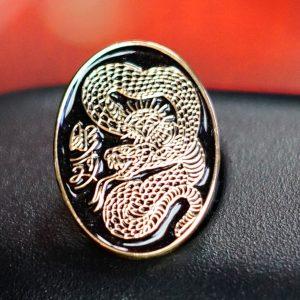 Horisumi Snake Pin